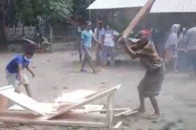 Aksi Rebut Paksa Jenazah  Covid-19 Di Bondowoso Terjadi Lagi, Peti Mati Dihancurkan Warga