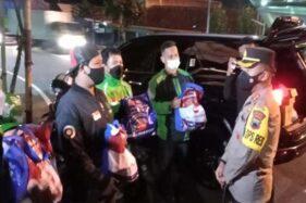 Awalnya Waswas Ada Patroli, Penjual Siomai Boyolali Senang Dapat Sembako dari Polisi