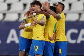 Hasil Perempat Final Copa America 2021: Brasil dan Peru ke Semifinal