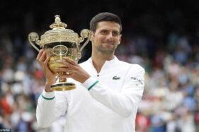 Juara Wimbledon 2021, Djokovic Catatkan Gelar Grand Slam ke-20