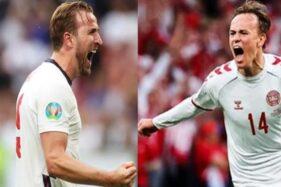 10 Fakta Menarik Semifinal Euro 2020, Inggris Vs Denmark