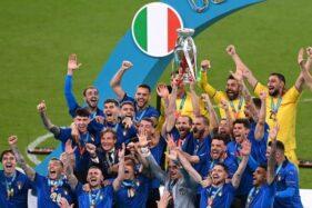 Juara Euro 2020, Italia Gagalkan Skenario Inggris Football is Coming Home