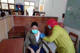 Vaksinasi 36.000 Siswa SD dan SMP di Boyolali Dimulai