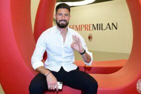 Terkenang Papin dan Van Basten, Olivier Giroud Senang Gabung AC Milan