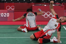 Luar Biasa! Greysia Polii/Apriyani Rahayu Persembahkan Medali Emas Olimpiade Tokyo 2020
