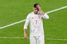 Disingkirkan Italia Lewat Adu Penalti, Spanyol Catat Rekor Buruk