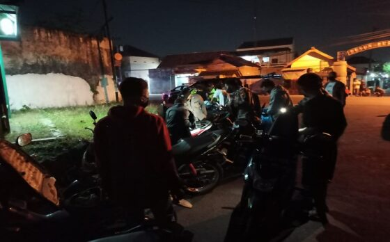 49 Remaja Ngumpul di Sondokoro Karanganyar hingga Dibubarkan Polisi Ternyata Beratribut Perguruan Silat