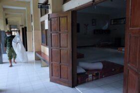 Gedung Sekolah di Solo Disulap Jadi Tempat Isolasi Pasien Covd-19, Begini Kondisinya
