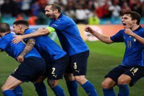 Atasi Inggris Lewat Adu Penalti 3-2, Italia Juara Euro 2020