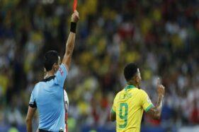 Gabriel Jesus Dilarang Bela Brasil Lawan Argentina di Final Copa America 2021