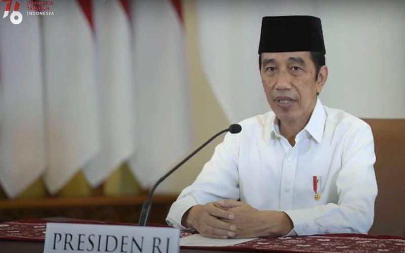 Takbir Akbar Virtual, Jokowi: Teladani Nabi Ibrahim, Kita Perlu Banyak Berkorban saat Pandemi