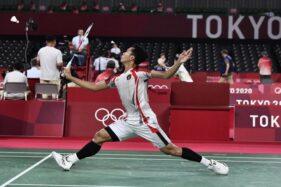 Jojo Susah Payah ke Perempat Final Bulu Tangkis Olimpiade Tokyo 2020