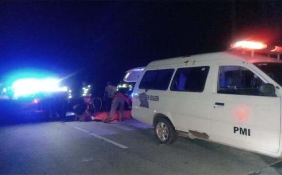 Motor Tabrak Becak di Jalan Gelap, Remaja Mondokan Sragen Meninggal Dunia