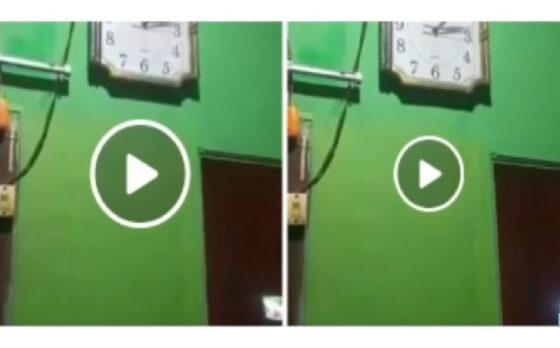 Ini Loh Video Viral Lampor Hantu Ketuk Pintu yang Disebut di Malang