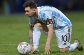 Argentina Vs Brasil: 4 Kali Gagal di Final, Lionel Messi Melawan Kutukan