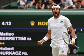 Matteo Berrettini Petenis Pertama Italia Tampil di Final Wimbledon