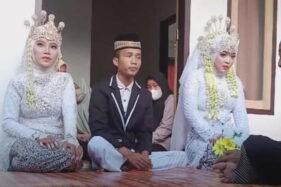 Pemuda Asal Lombok Tengah ini Nikahi 2 Wanita Sekaligus, Kepala Dinas Pemberdayaan Perempuan Geleng-Geleng Kepala