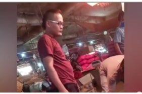 Viral Bakul Bawang di Pasar Mirip Sule, Netizen Salfok