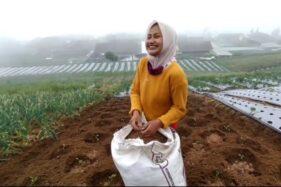 Penyanyi Dangdut Cantik Boyolali yang Banting Setir Jadi Petani Ogah Balik Manggung, Ini Alasannya