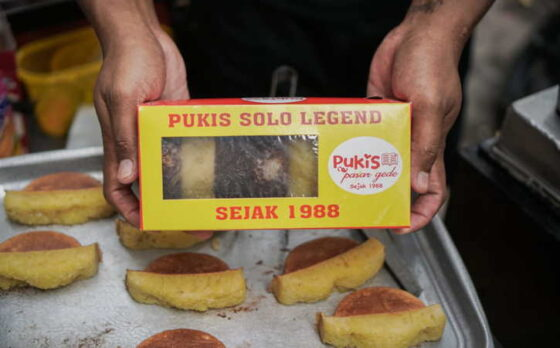 Pukis Pasar Gede, camilan khas Solo yang manis dan legit. (Istimewa)