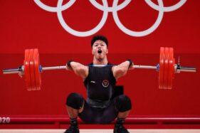 Hebat! Angkat Besi Persembahkan Medali Ketiga Buat Indonesia di Olimpiade Tokyo 2020