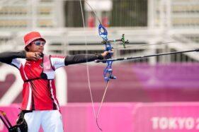 Ketat Lawan AS, Riau Ega Terhenti di 16 Besar Panahan Olimpiade Tokyo 2020
