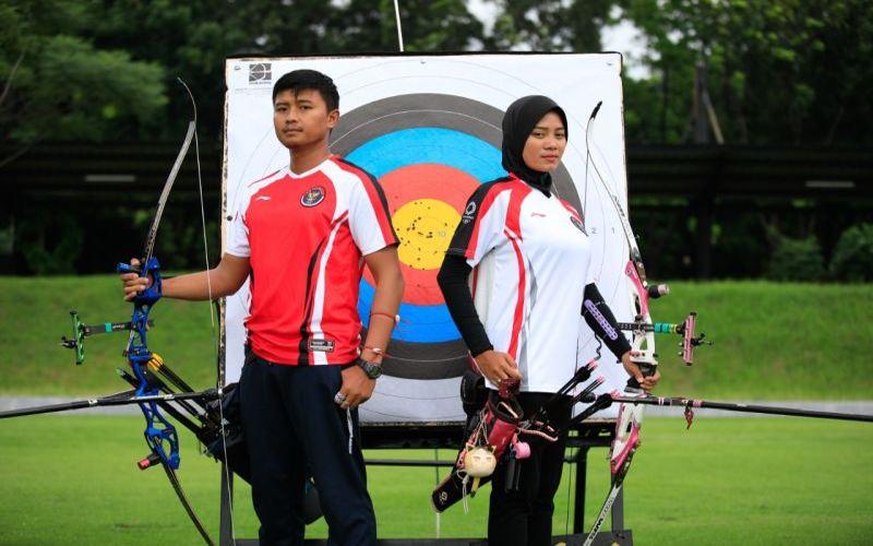 Kejutan! Beregu Campuran Indonesia Lolos ke Perempat Final Panahan Olimpiade Tokyo 2020