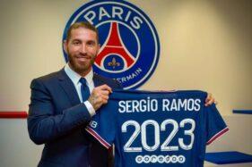 Resmi! Sergio Ramos Kini Berkostum PSG