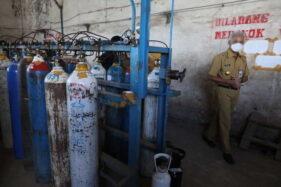 Gubernur Ganjar Sidak Depo Oksigen di Demak, Ini Temuannya