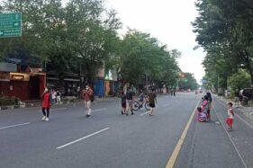 PPKM Darurat Diperpanjang, Penutupan Jalan di Solo Dilanjutkan