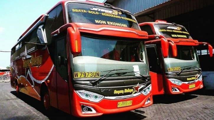 Banyak Jalan Ditutup, Bus Sugeng Rahayu dan Eka Mira Berhenti Beroperasi Per Hari Ini