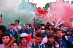Diperlakukan Khusus, 1.000 Suporter Italia Boleh Hadiri Final Euro 2020