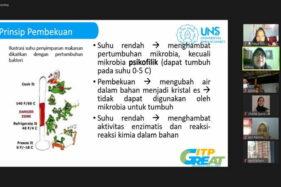 Bantu UKM Kuliner, Fakultas Pertanian UNS Sosialisasi Keamanan Pangan Produk Frozen Food