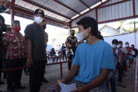 Ribuan Pedagang di 15 Pasar Tradisional Boyolali Jadi Sasaran Vaksinasi Covid-19