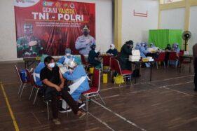 500 Mahasiswa Jadi Sasaran Vaksinasi Covid-19 GMNI-Polri di GOR Manahan Solo