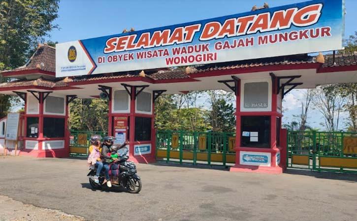 Wisata Waduk Gajah Mungkur atau WGM Wonogiri tutup Mei 2021 lalu. (Solopos-Rudi Hartono)