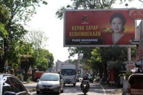 Jadi Sasaran Vandalisme, Baliho Puan di Solo Langsung Diganti Baru