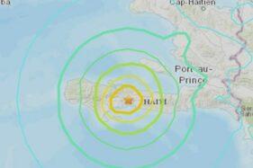 Gempa M 7,2 di Haiti Picu Peringatan Tsunami, Bikin Warga Syok