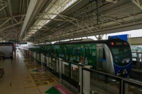 Tiga Stasiun MRT Jakarta Beroperasi Kembali