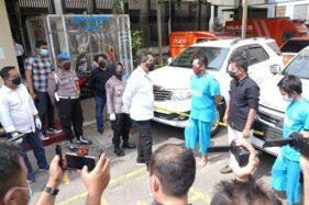 Kawanan Pencuri Mobil Mewah asal Lampung Dibekuk Polda Jateng