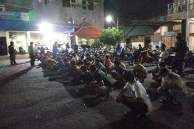 Balap Liar di Jalan Ahmad Yani Sukoharjo, 33 Pemuda Dicokok Polisi