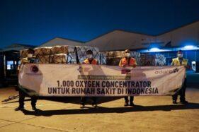 Dukung Penanganan Covid-19, Adaro Pasok 1.000 Konsentrator Oksigen