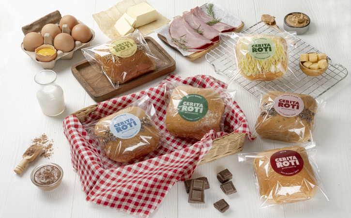 Cerita Roti memperluas jangkauan dengan membuka gerai-gerai baru (Istimewa)