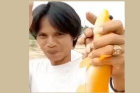 Viral Pria Pamer Ikan Gabus Emas Hasil Tangkapannya, Tolak Tawaran Rp80 Juta!