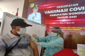 Bupati Jekek: Wonogiri Bisa Vaksin 25.000 Orang Dalam Sehari