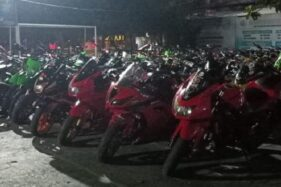 101 Motor Diangkut ke Mapolres Klaten, Ini Gara-Garanya