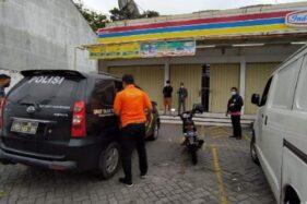 ATM Bank Mandiri di Indomaret Magelang Dibobol Maling, Pegawai: Ada Tabung Gas Meleleh
