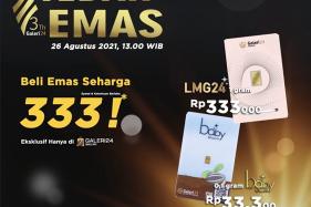 Ulang Tahun ke-3, Galeri 24 Tebar Emas Batangan sampai Flash Sale Emas Rp333