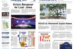 Solopos Hari Ini: Krisis Bergeser ke Luar Jawa