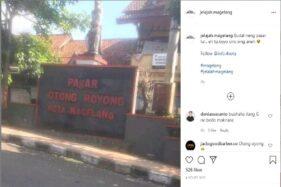Gegara 1 Huruf Hilang, Pasar Gotong Royong Tuai Komentar